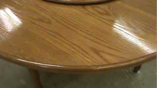 Antique Furniture Repair Llc  Water Damage Dining Room Table Top 2 Of 2