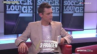 3 Fragen an Thomas Bickel, The Soccer Lounge, 17.07.2017