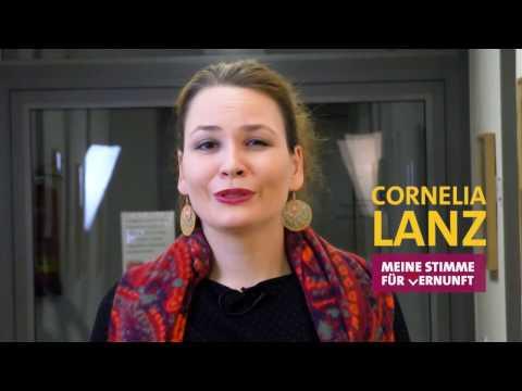 Meine Stimme für Vernunft: Cornelia Lanz