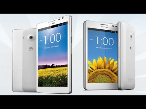 Huawei Ascend P2 - Demo - MWC 2013
