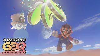 Super Mario Odyssey by Bayleef in 3:21:12  AGDQ2019