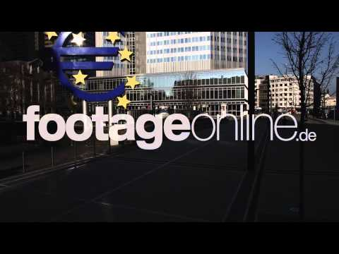 Euro Sign 02 footage 000261 HD