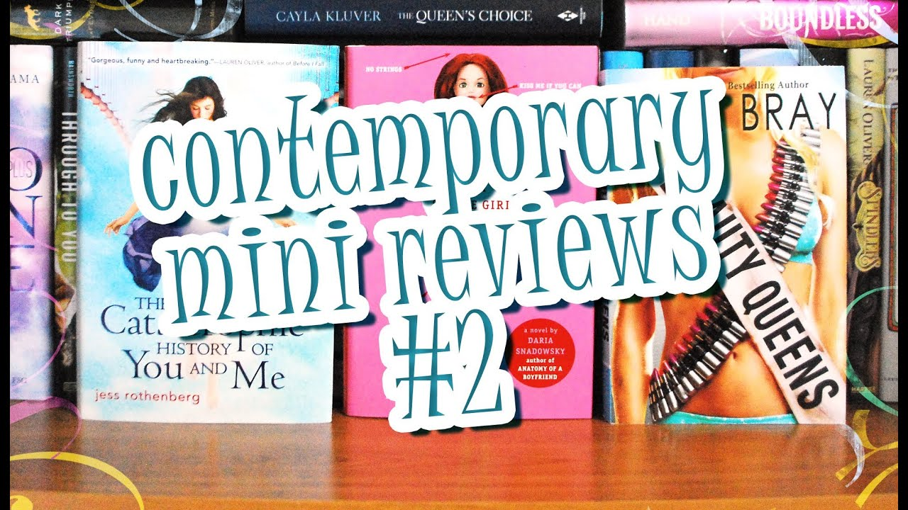 Mini Book Reviews 2 Contemporary Teen Books No Spoilers Youtube