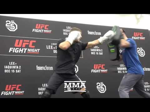 UFC on FOX 31: Al Iaquinta Open Workout (Complete) – MMA Fighting