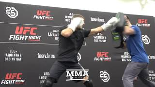 UFC on FOX 31: Al Iaquinta Open Workout (Complete) - MMA Fighting