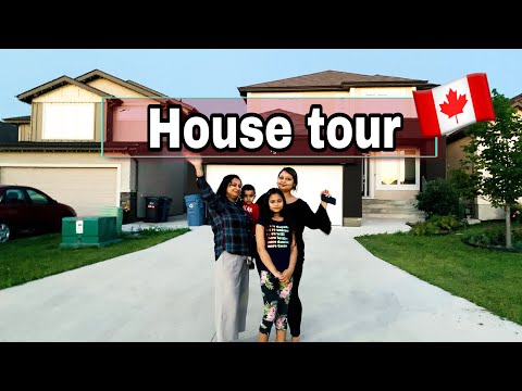 House Tour Canada | My Friend Bought A $500,000 House In Canada