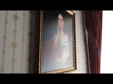 Martin Van Buren house tour, Kinderhook, NY