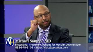 New Treatments for Macular Degeneration with Palm Desert's Michael Samuel, MD