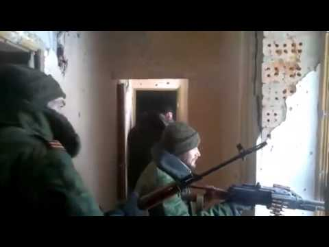 Novorossia militia firing at the positions of the Ukrainian army 12 03 2015 Ukraine War,News Today!