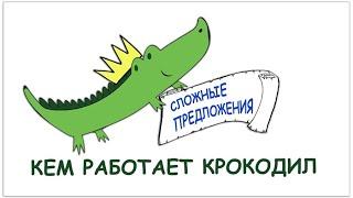 Кем работает «Крокодил» | Школьникам о сложных предложениях