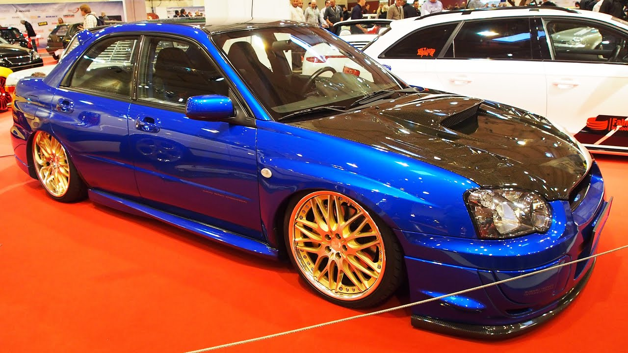 subaru impreza wrx 2005 tuning 290 ps at essen motorshow. Black Bedroom Furniture Sets. Home Design Ideas