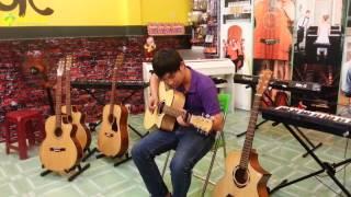 """Sóng Nhạc """"Khúc Nhạc Giáng Sinh""""_ Guitar Cover River Flows In You"""