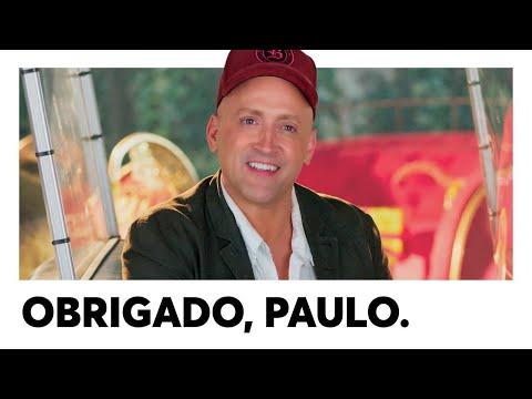 OBRIGADO, PAULO GUSTAVO.
