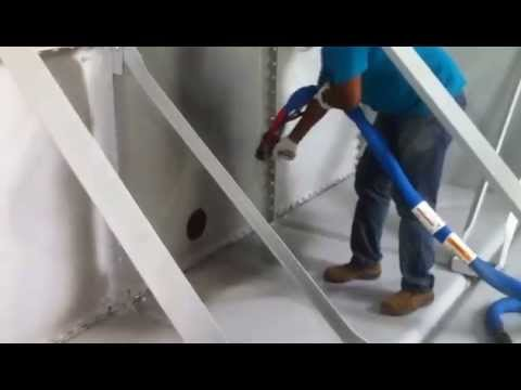 Nukote Industries Malaysia- Nukote ST Pure Polyurea Metal Tank Spraying