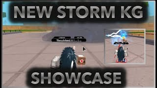 [NEW CODES] NEW STORM KG SHOWCASE/REVIEW!|[051] MOMOSHIKI VS STORM!!|ROBLOX Naruto RPG- Beyond |