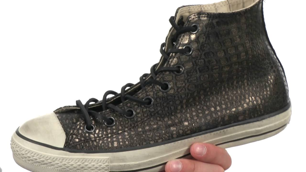 6e77a627138e Converse by John Varvatos Chuck Taylor All Star Reptilian Leather  SKU 8389407