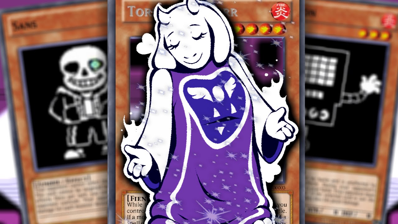 CAN WE PULL GOAT MAMA!? OPENING 30x UNDERTALE CARD PACKS!! | UNDERCARDS #2  (Undertale fangame)
