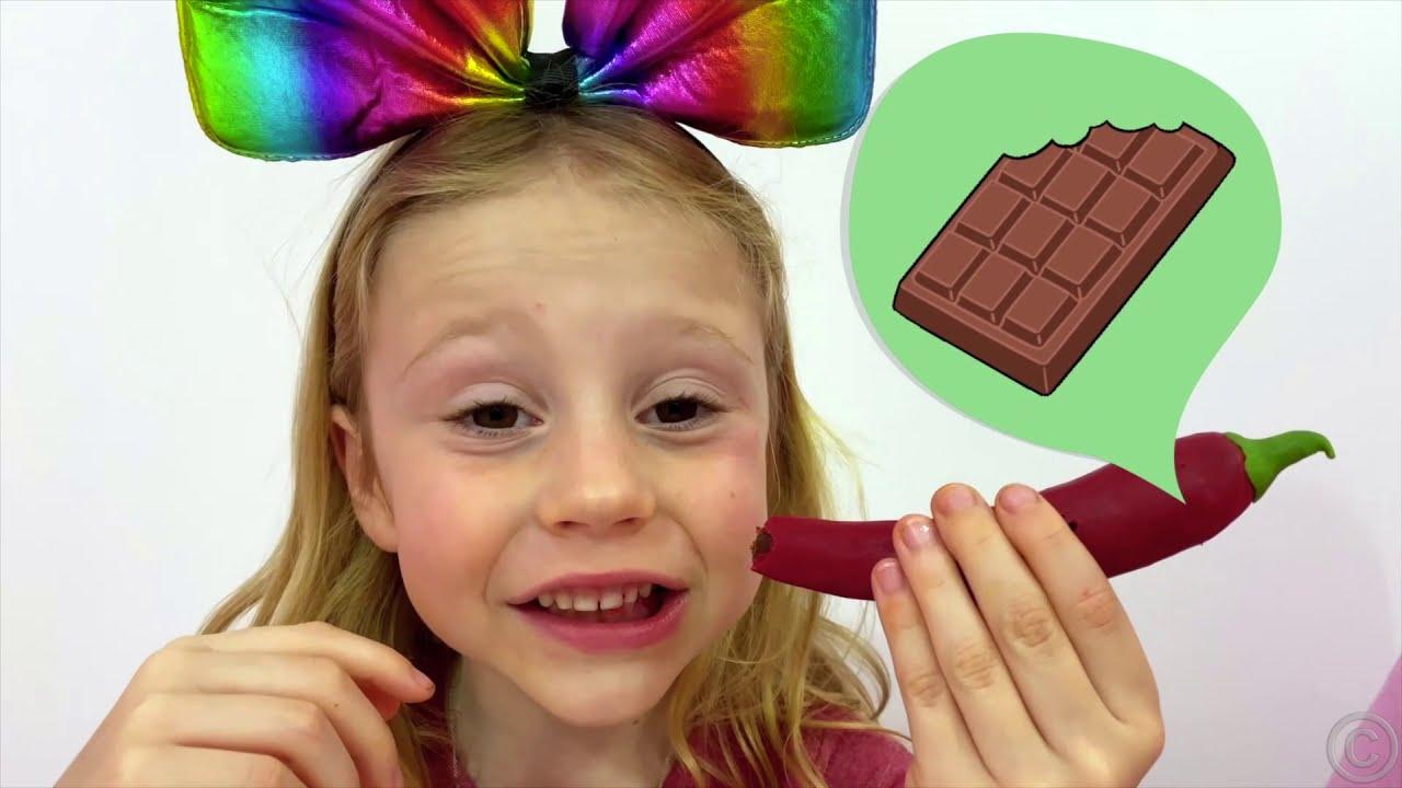 Настя и истории про вредные сладости