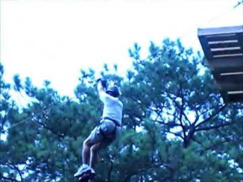 Callaway Gardens Tree Top Adventure June 2013 Youtube
