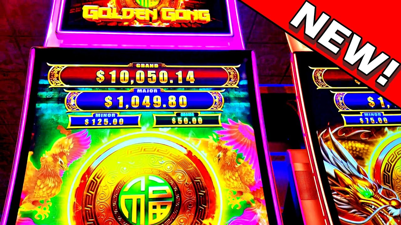 THIS ONE HURT ME!!! * THE MANAGER DID NOTHING!!! - New Las Vegas Golden Gong Slot Machine Bonus