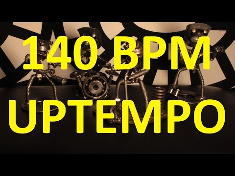 140 BPM - Uptempo Pop Rock - 4/4 Drum Track - Metronome - Drum Beat