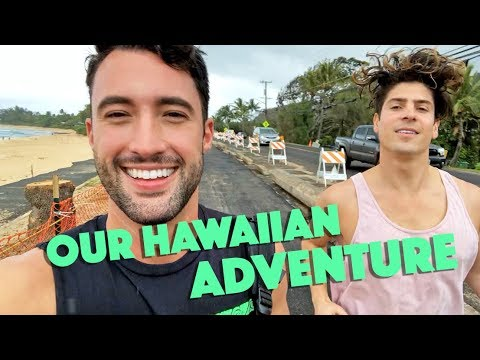 We Went To Hawaii VLOG | BROCK + CHRIS