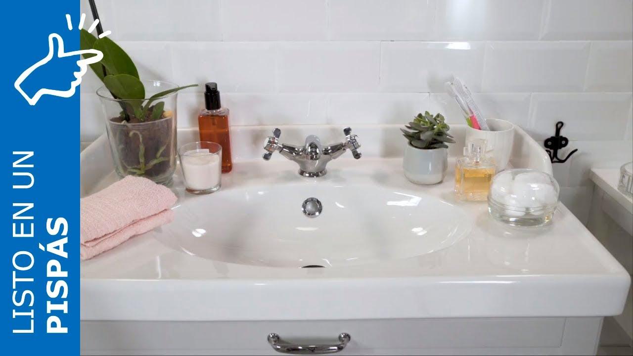 Cómo organizar el baño en un pispás - IKEA - YouTube
