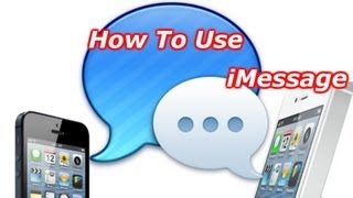 How To Use iMessage - How To Turn iMessage On And Off