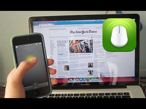 Mobile Mouse Pro IPhone App - Review And Giveaway!