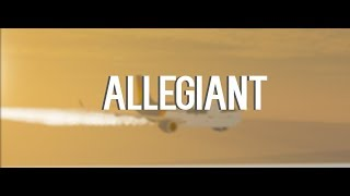 Allegiant Airlines!   Airbus A320!!   Roblox