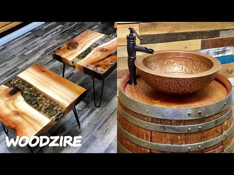 10 Amazing Woodworking DIY You Must See - DIY Woodworking Project Plans For Beginners And Advanced