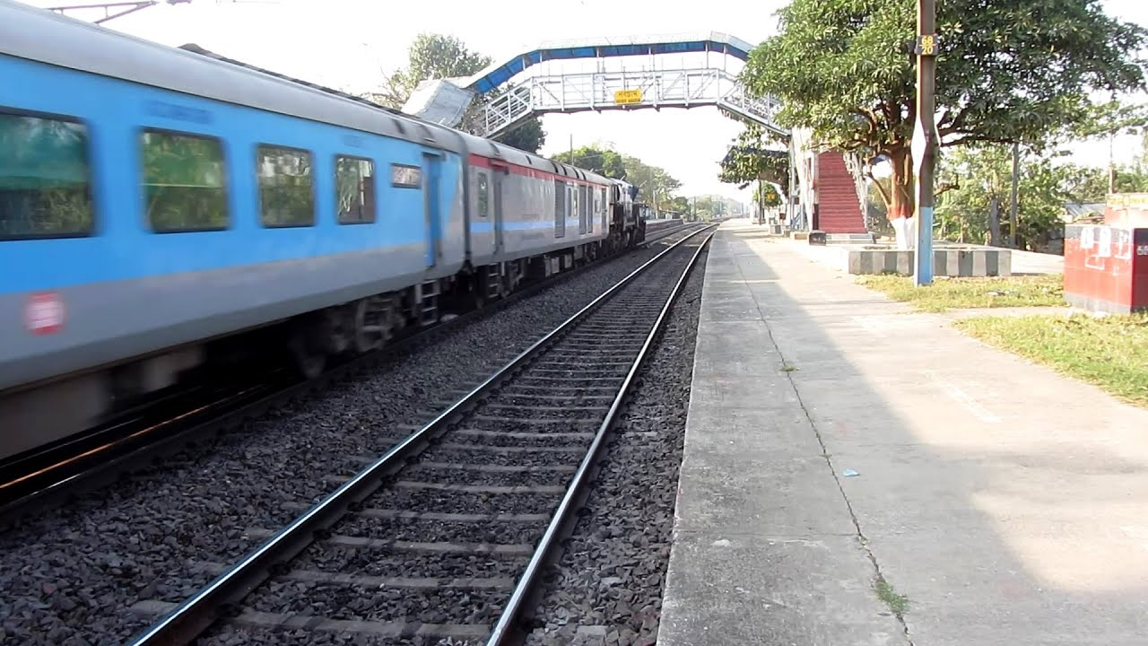Accelerating Alco's & EMD - ICF &  LHB raked Superfast & Express trains