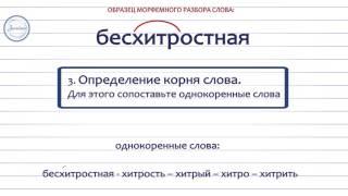Русский 5 кл Морфемный разбор слова