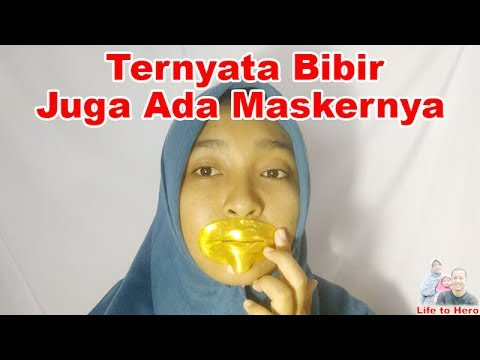 Review Dan Cara Pakai Masker Bibir Emas Collagen