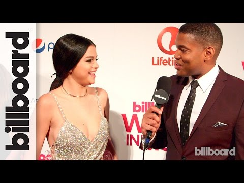 Selena Gomez   Women In Music 2015 Red Carpet
