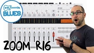 zoom r16 recorder interface controller demo review