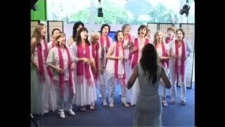 GOSPEL LINK SINGERS, INTERVIEW ON ESPLUGUES TV