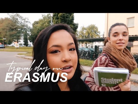 A DAY IN THE LIFE OF AN ERASMUS STUDENT | STUDY ABROAD | GERMANY VLOG