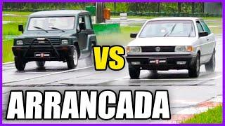 GURGEL vs VW GOL: Começando as Disputas 😨 - ARRANCADA