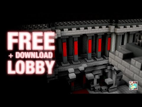 Minecraft Lobby / Spawn ★ + FREE MAP DOWNLOAD ★ Cinematic by FacingBlocks