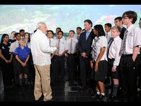 PM Modi interacts with Scientists & Students at QUT in Brisbane, Australia