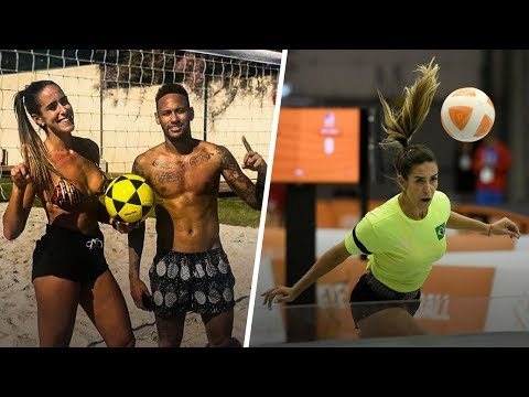 Natalia Guitler: Brazil's Awesome Queen Of Teqball | Oh My Goal