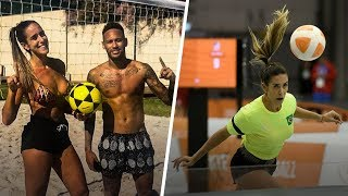 Natalia Guitler: Brazil's awesome queen of Teqball   Oh My Goal