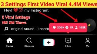 How To Viral  Videos On Tik Tok 5 6 Settings || How To Get Real Likes Followers On Tik Tok | 1000 screenshot 4