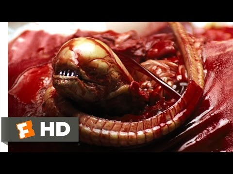 Alien (1979) - Chestburster Scene (2/5) | Movieclips