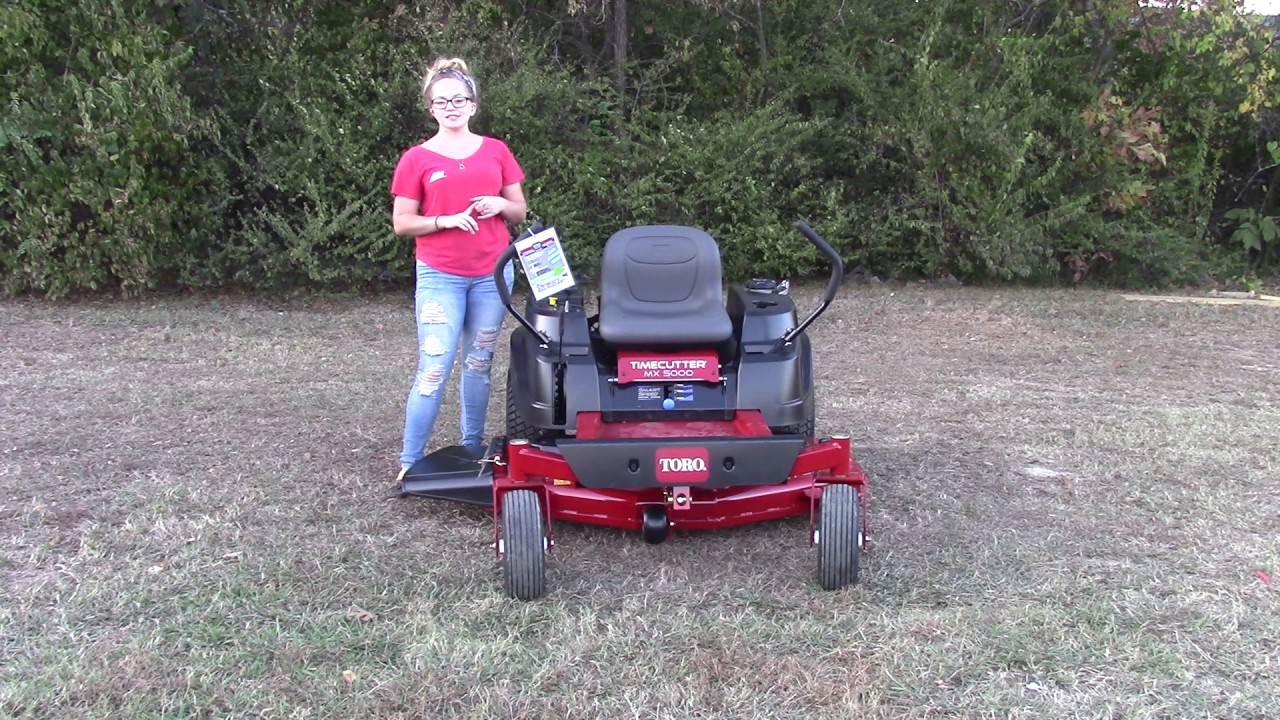 Snap How To Remove A Mower Deck Toro Timecutter Youtube Photos On Z5035 Wiring Diagram 74775 Mx5000 50quot 245hp Engine Zero Turn Review