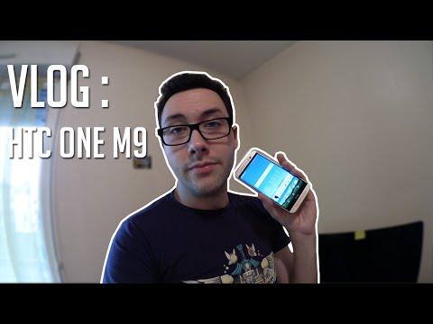 VLOG : 5 jours passés avec le HTC One M9