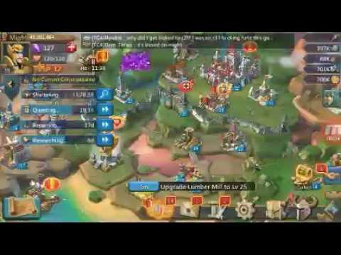 Lords Mobile Garrisoned Troops Fight