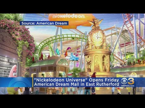 Andi and Kenny  - Nickelodeon Universe Opens In New Jersey This Week!