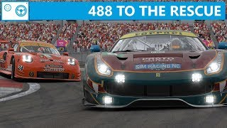 488 To The Rescue *** Ferrari 488 GTE at Nürburgring (iRacing)